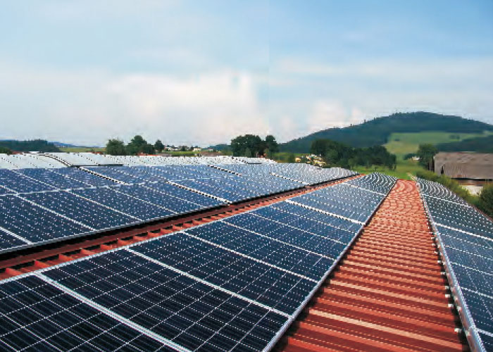 2.2MW Salamanca,Spain Industrial roof photovoltaic ower plant