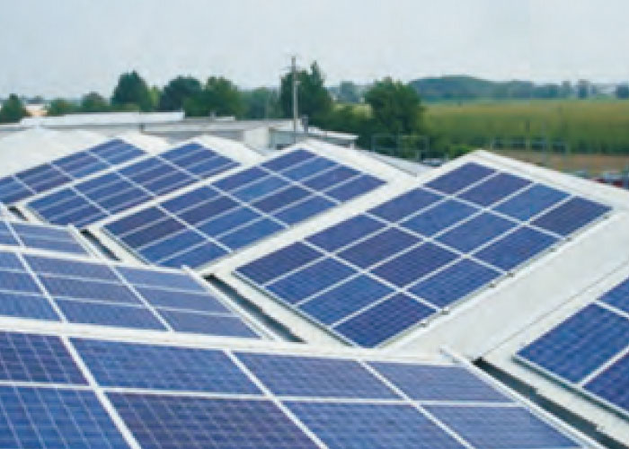 360KW Hodonin, Czech Ground centralized photovoltaic power station