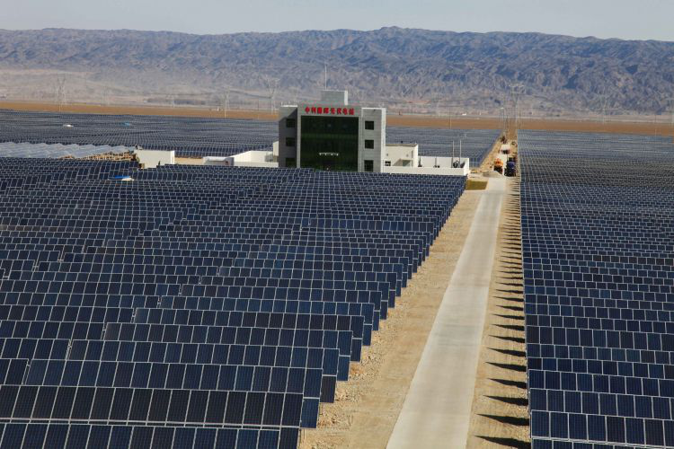 Solar sector set to benefit from China's aim to be carbon neutral by 2060